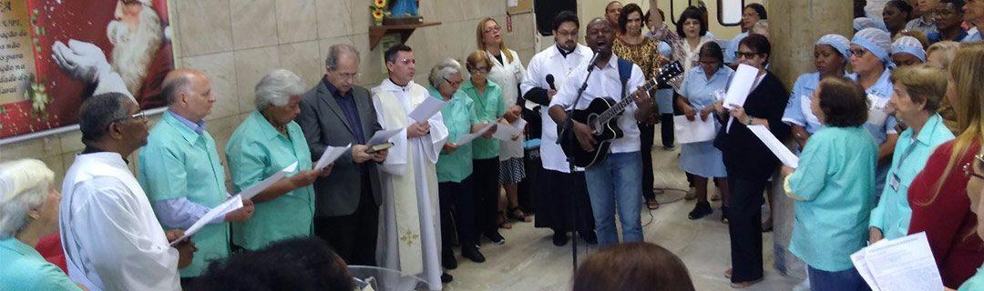 Capelania da CBC representa evangélicos em culto no Hospital do Andaraí