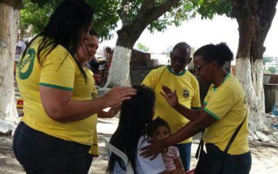 Missionários cariocas levam o amor de Cristo aos enlutados