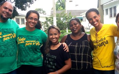 Bruna Karla visita trabalho de capelania socioeducativa