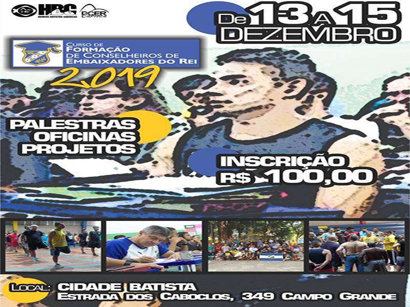Homens Batistas Cariocas promovem Curso de Formação de Conselheiros