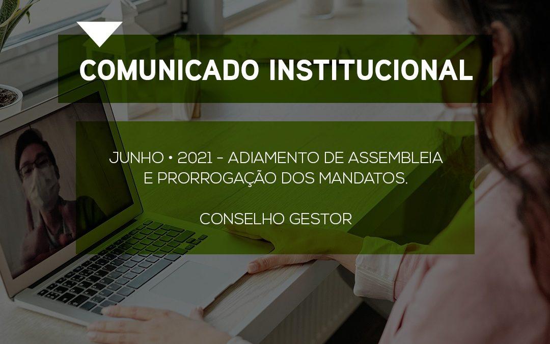 Comunicado Institucional | OPBBCA