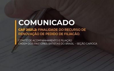 Comunicado OPBB
